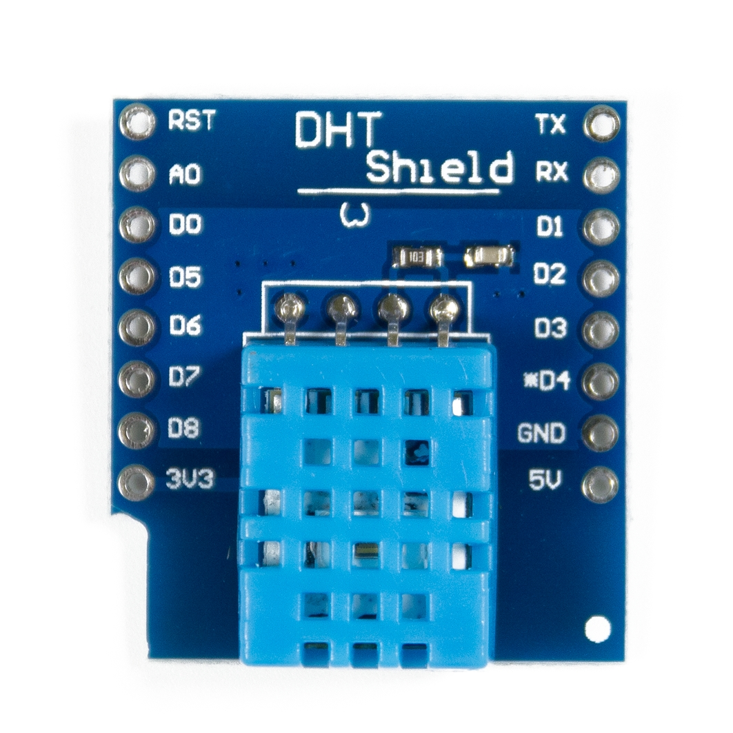 WEMOS DHT D4 Shield  для Arduino