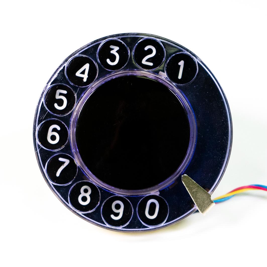 Телефонный дисковый номеронабиратель для Arduino ардуино