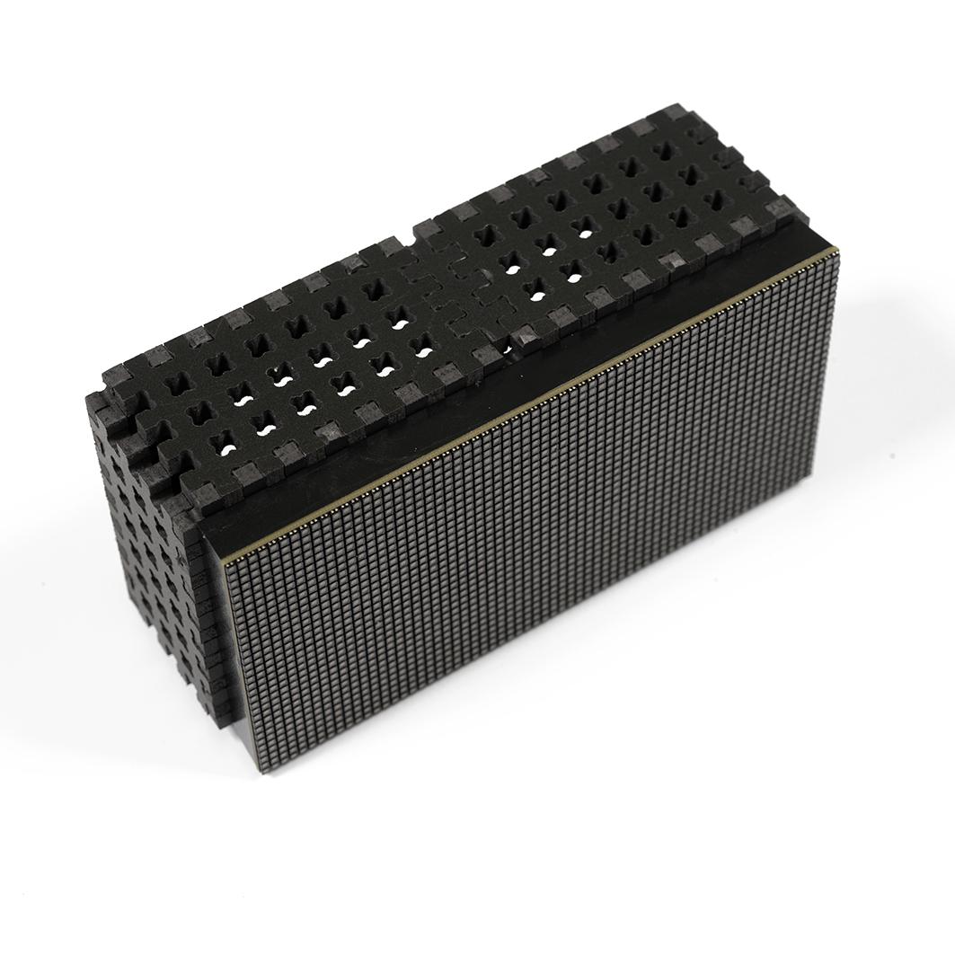 Крепление для RGB матрицы 64x32, P2.5 (конструктор ПВХ) для Arduino ардуино