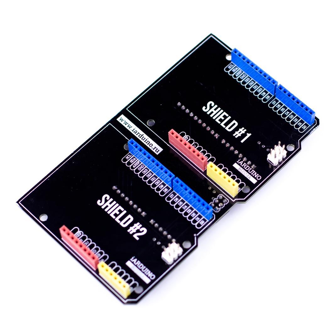 Double Shield для Arduino ардуино