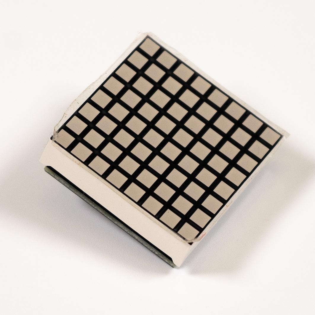 LED Матрица 8x8, синяя - i2c (Trema-модуль) для Arduino ардуино