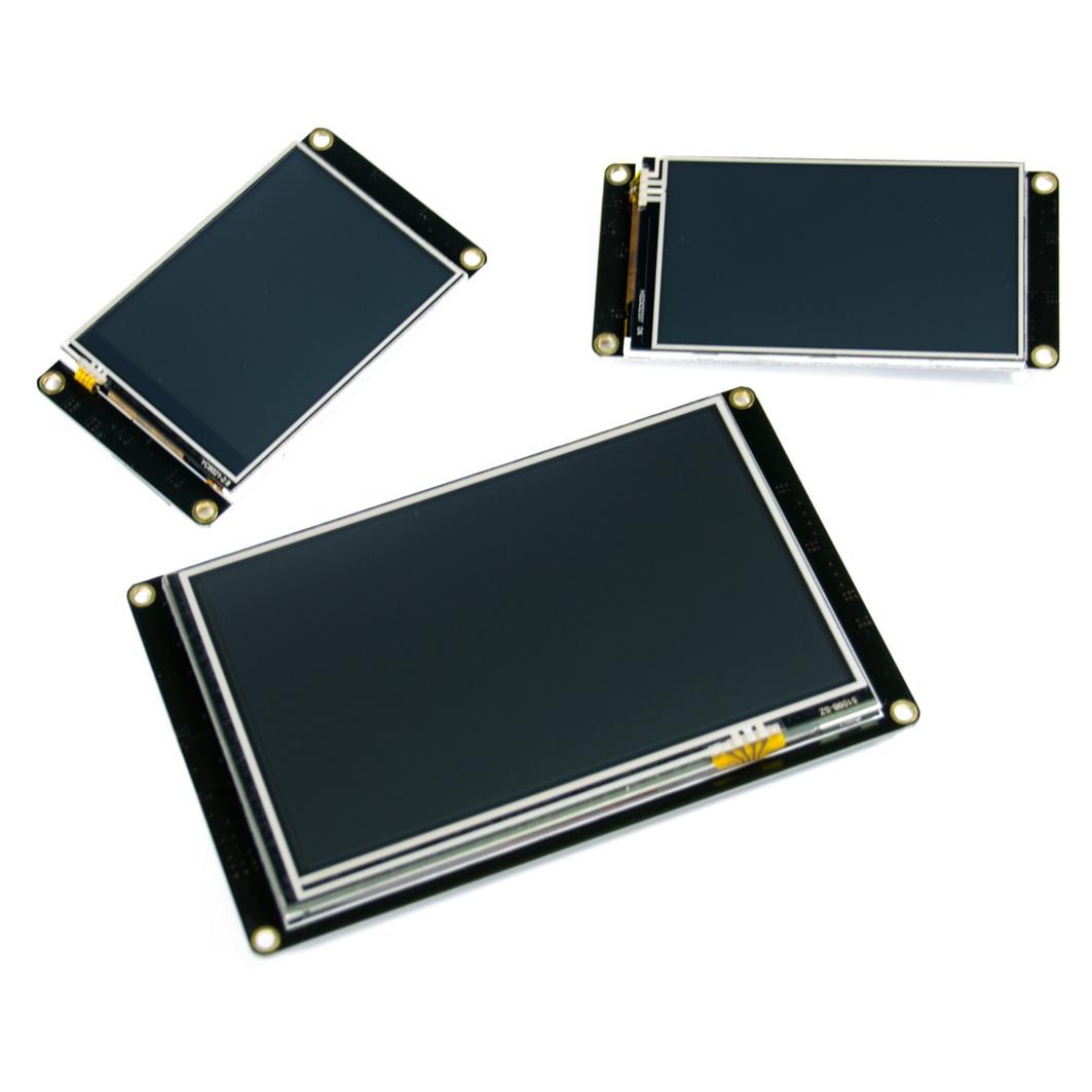 """Цветной сенсорный TFT-экран Nextion 400×240 / 3,2"""" Enhanced  для Arduino ардуино"""