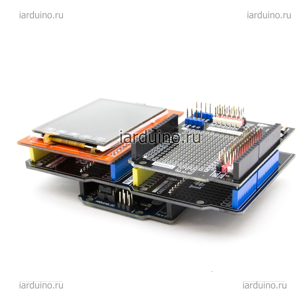 Double Shield для Arduino ардуино
