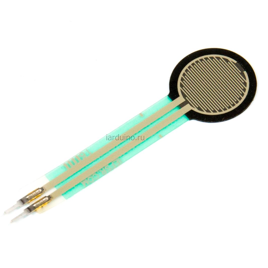 Резистор давления (12 мм), FSR402 для Arduino ардуино