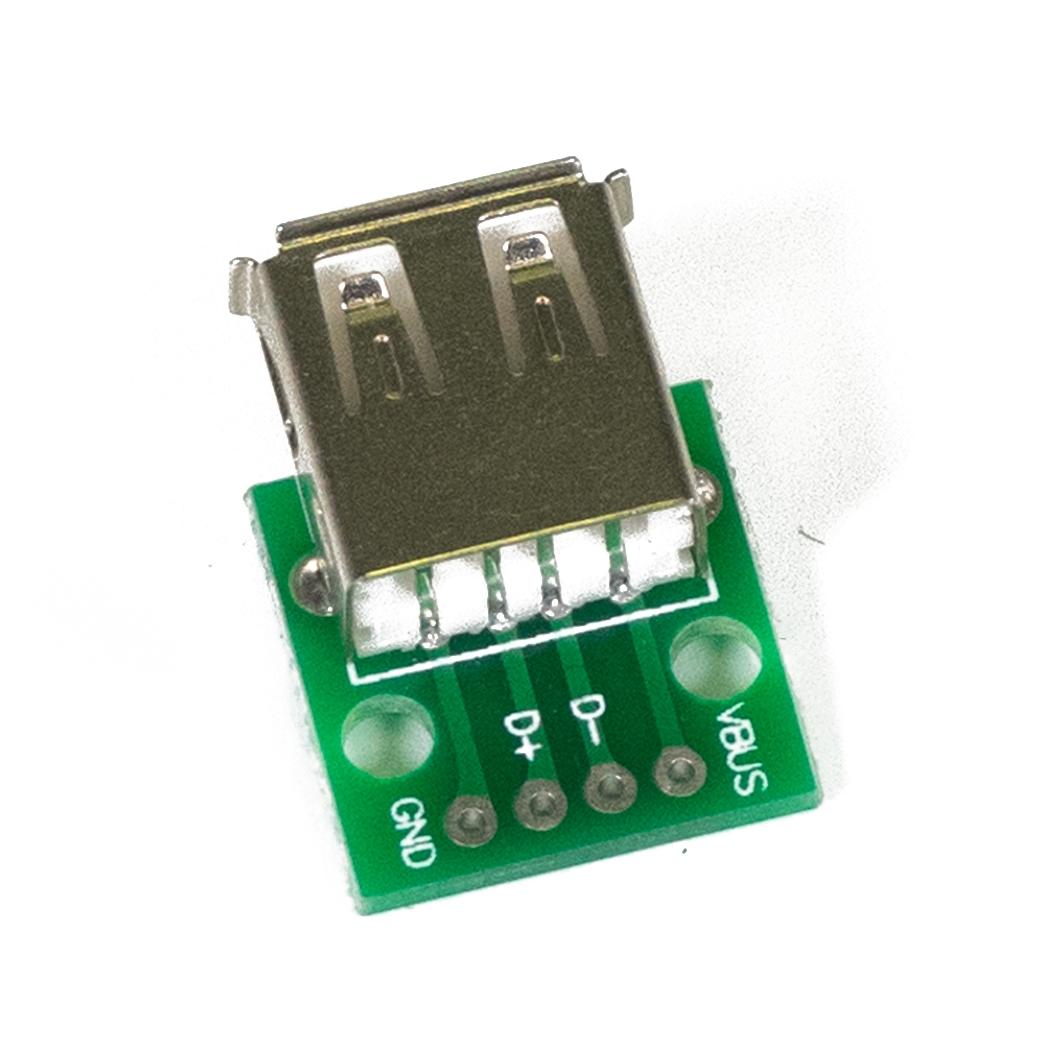 Разъем  USB-A для Arduino ардуино