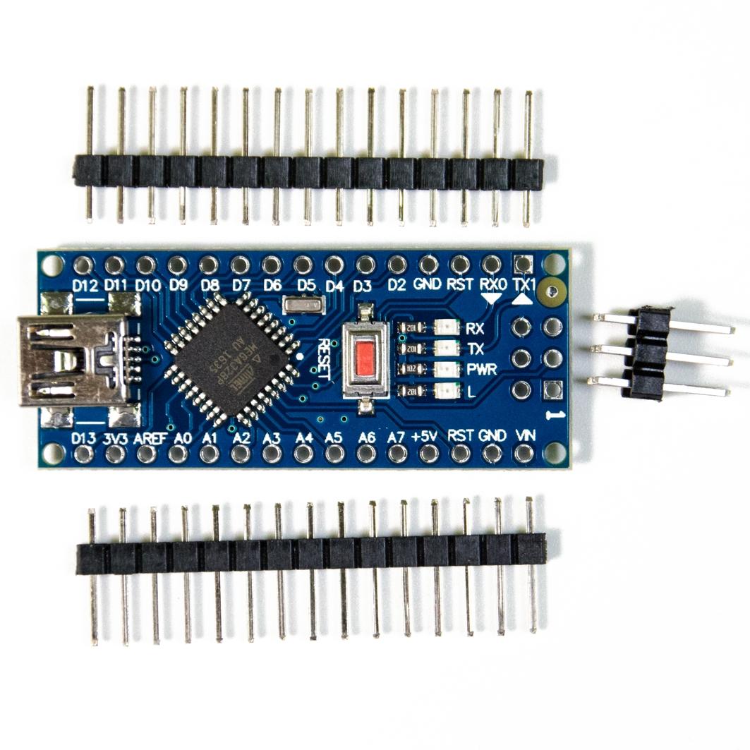 Arduino NANO V 3.0 CH340G (Ноги не припаяны) для Arduino ардуино