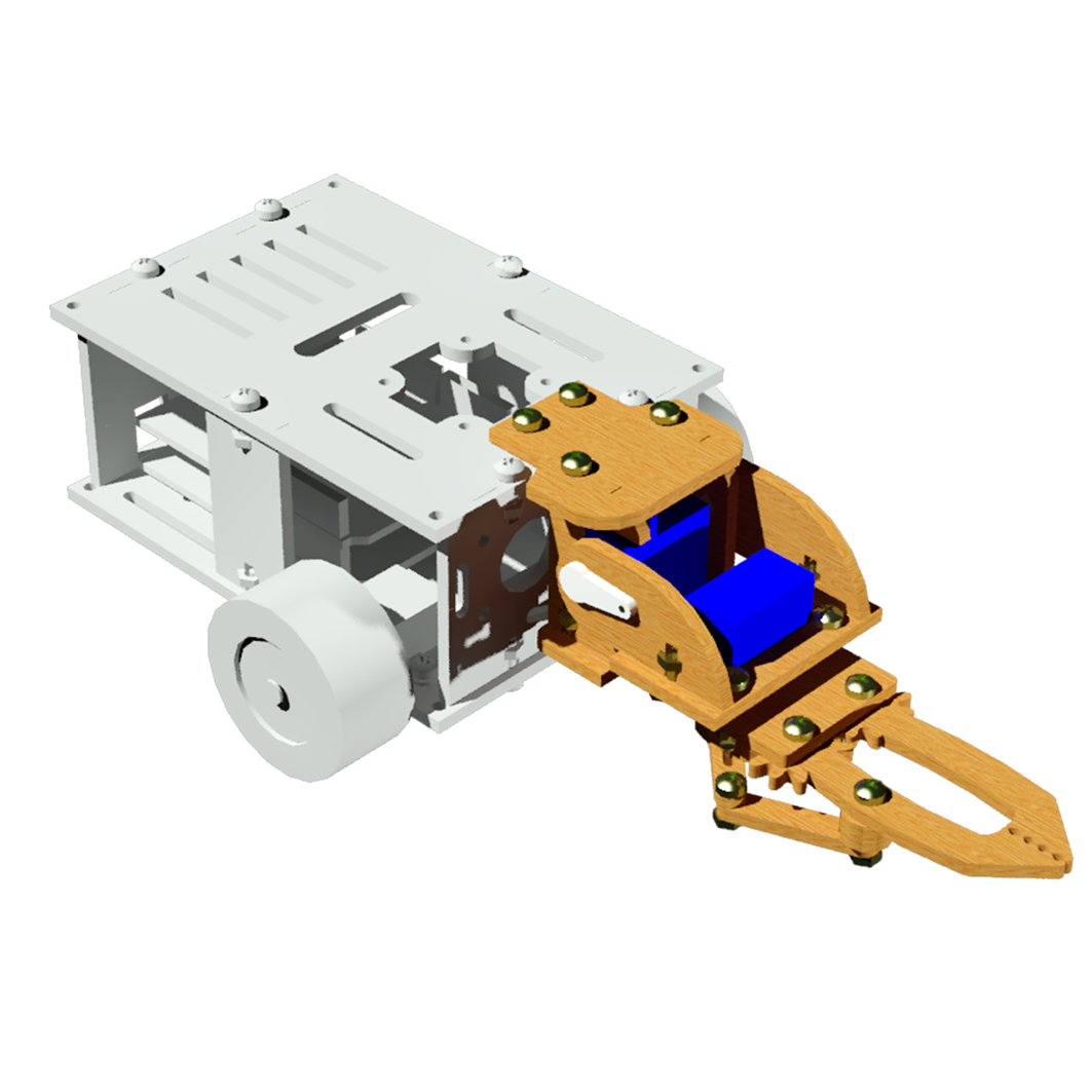 Комплект «Подвижный захват» для Arduino ардуино