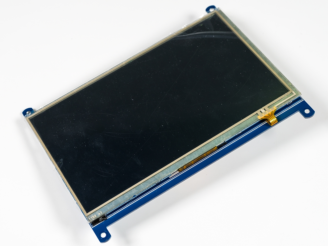 """Цветной графический TFT-экран с тачем 1024×600 / 7,0"""" HDMI  для Arduino ардуино"""