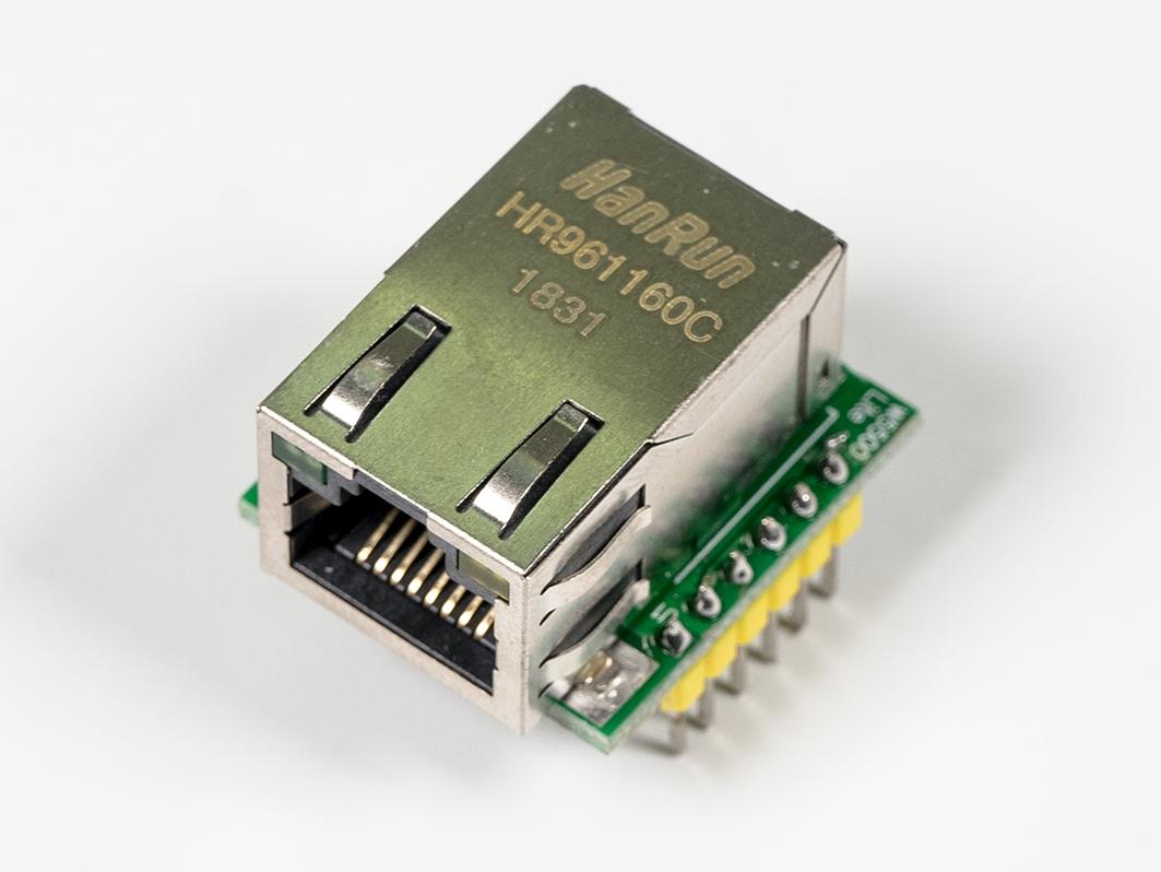 Компактный сетевой модуль W5500 ТСР/IP (Ethernet) для Arduino ардуино