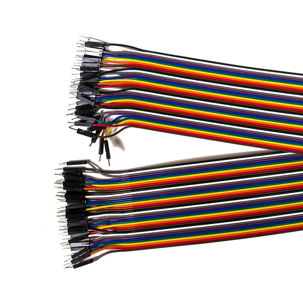 Набор проводов «Папа — Папа», 40шт, 40см для Arduino ардуино