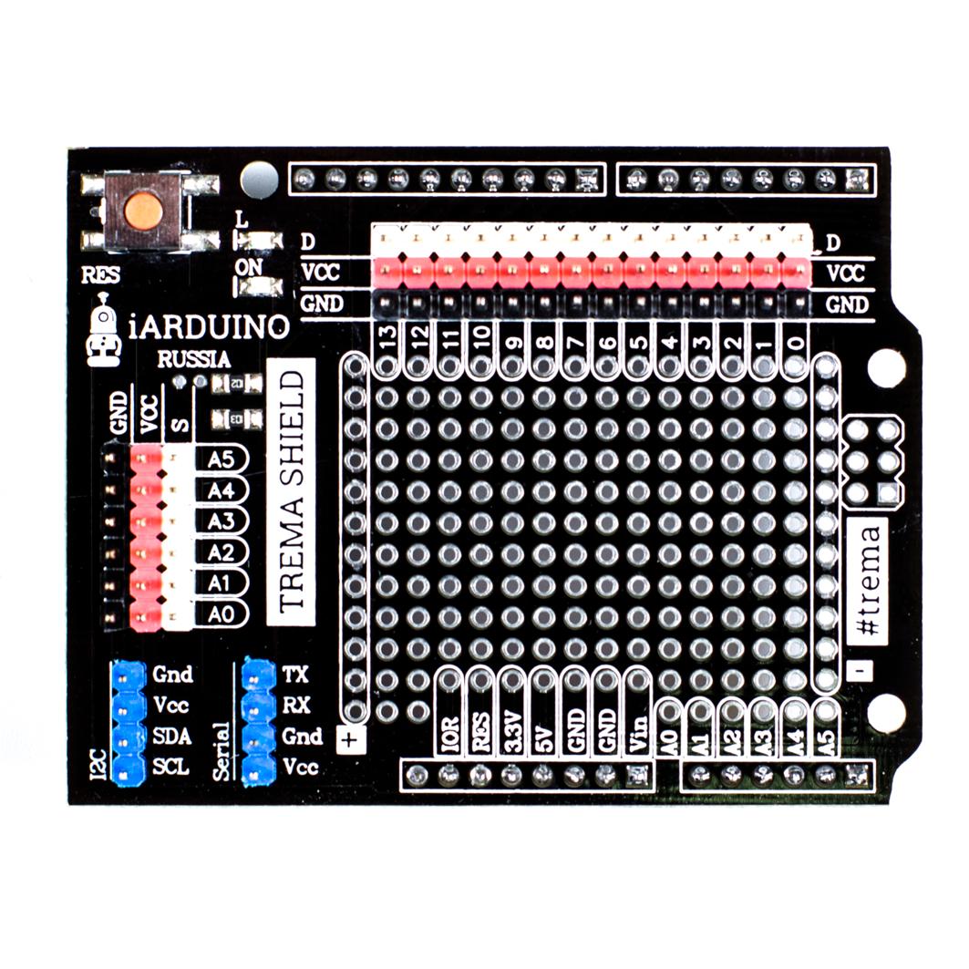 Trema Shield для Arduino ардуино