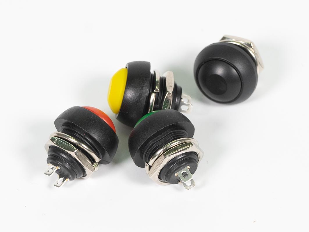 Корпусная кнопка, черная для Arduino ардуино