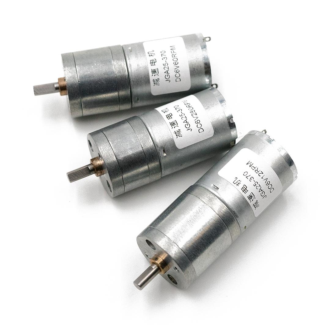 Мотор-редуктор 25мм, 12 об/мин. для Arduino ардуино