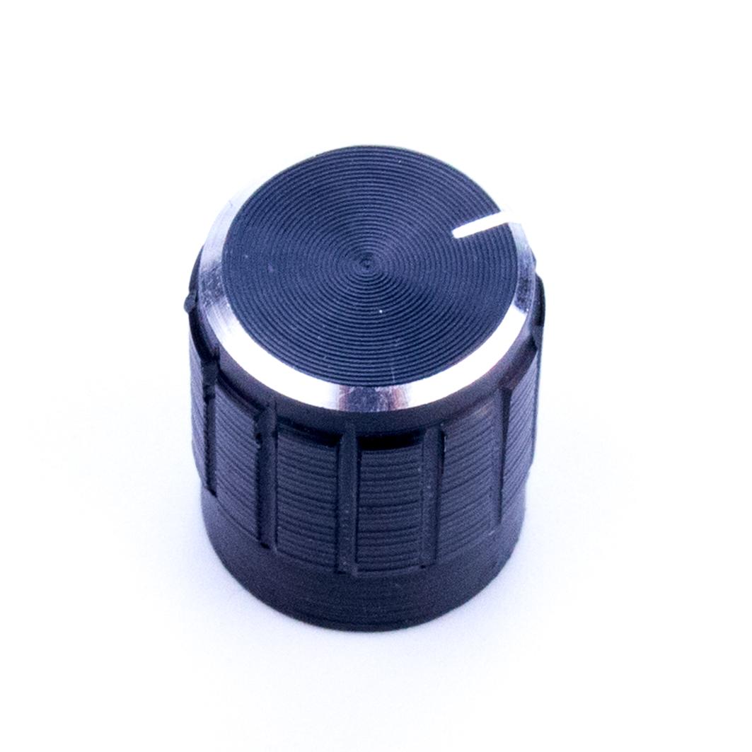 Алюминиевая ручка потенциометра, черная для Arduino ардуино