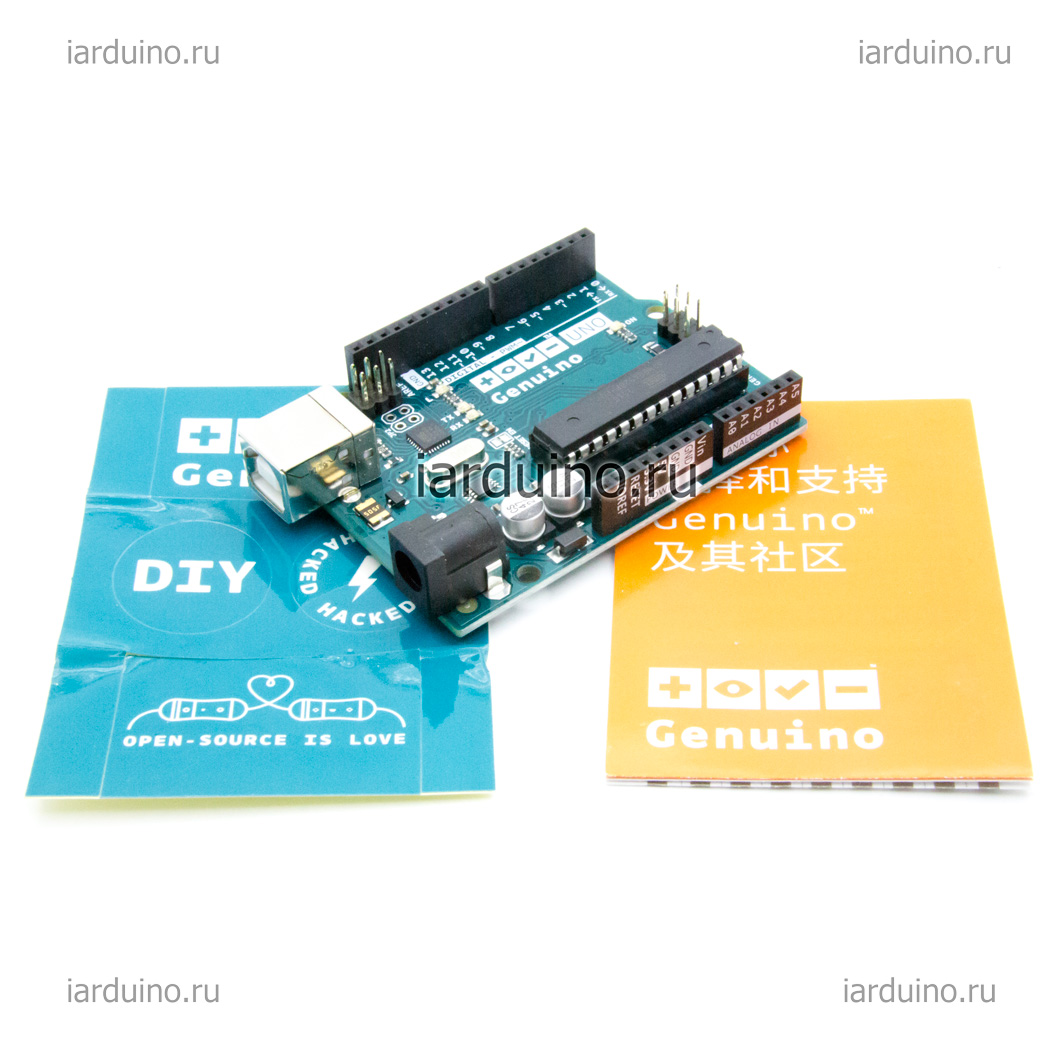 Genuino UNO ORIGINAL для Arduino ардуино
