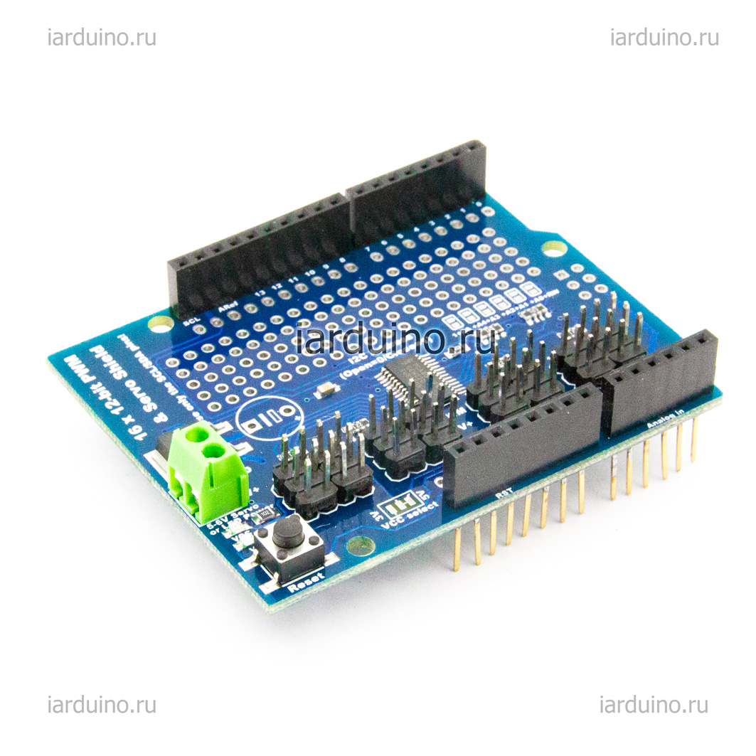 Servo Shield на 16 каналов   для Arduino