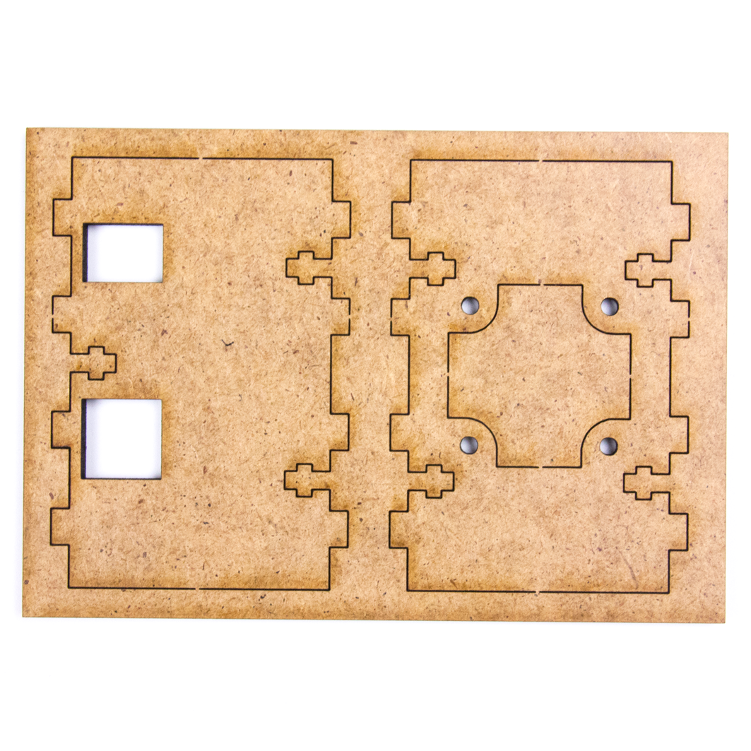 Платформа #2, передняя и задняя стенка для Arduino ардуино