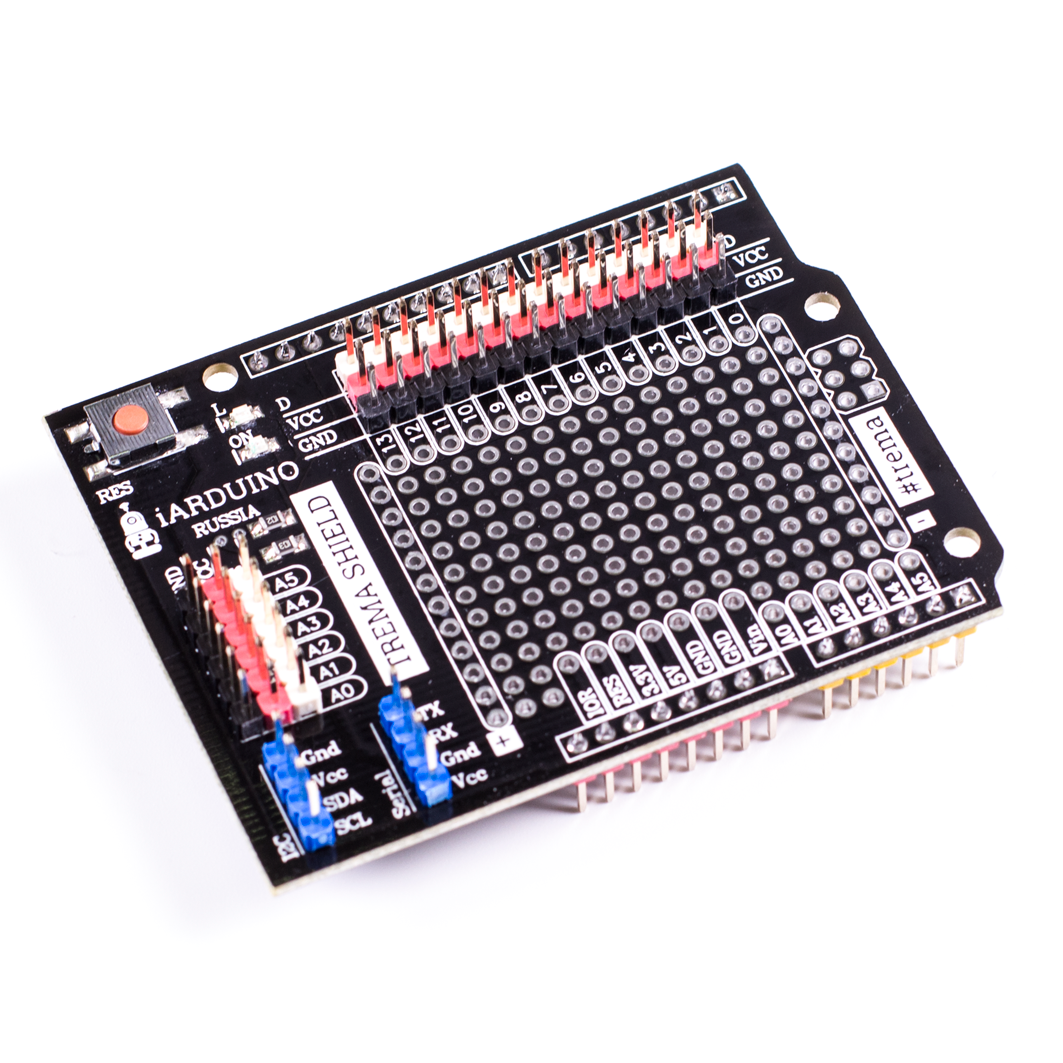 Trema Shield для Arduino ардуино