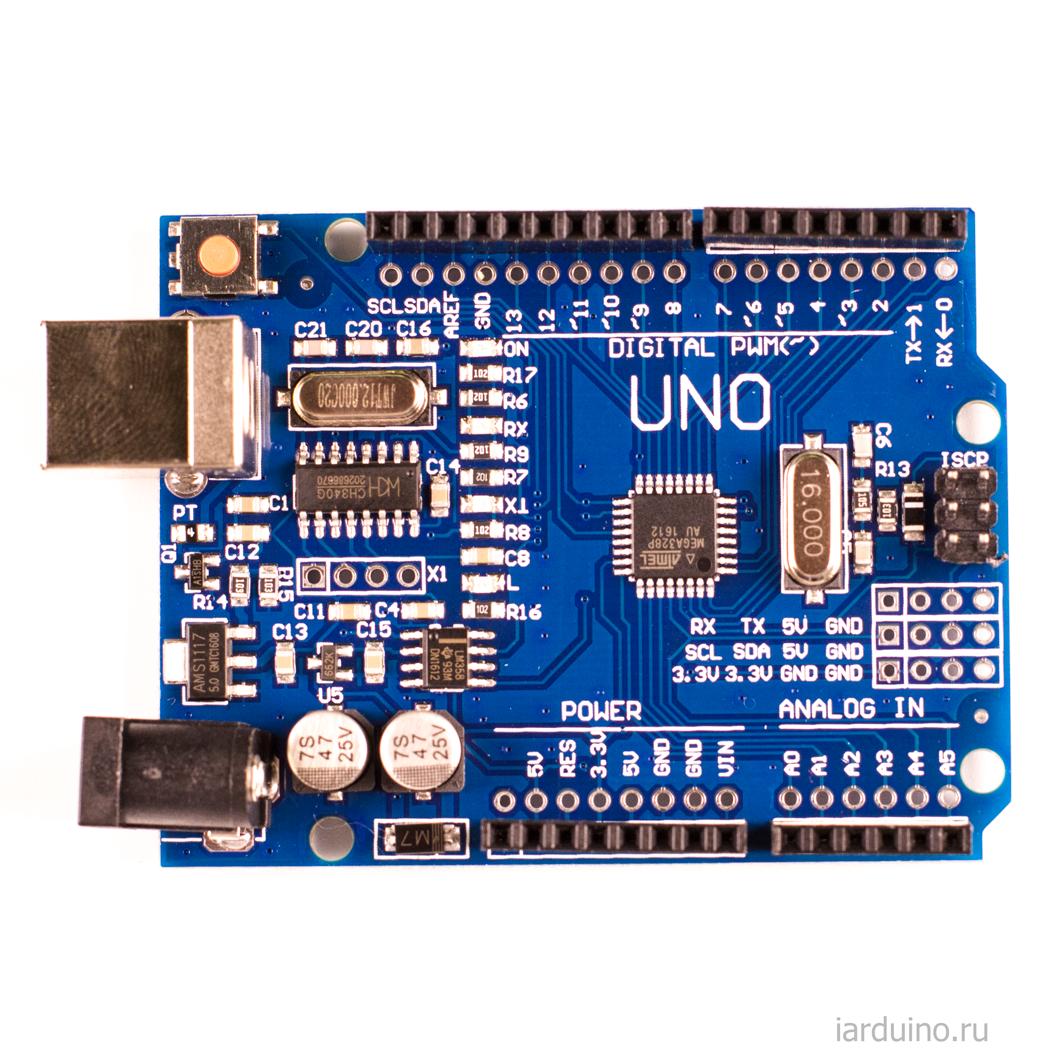 Arduino Uno R3 Hobbyistconz
