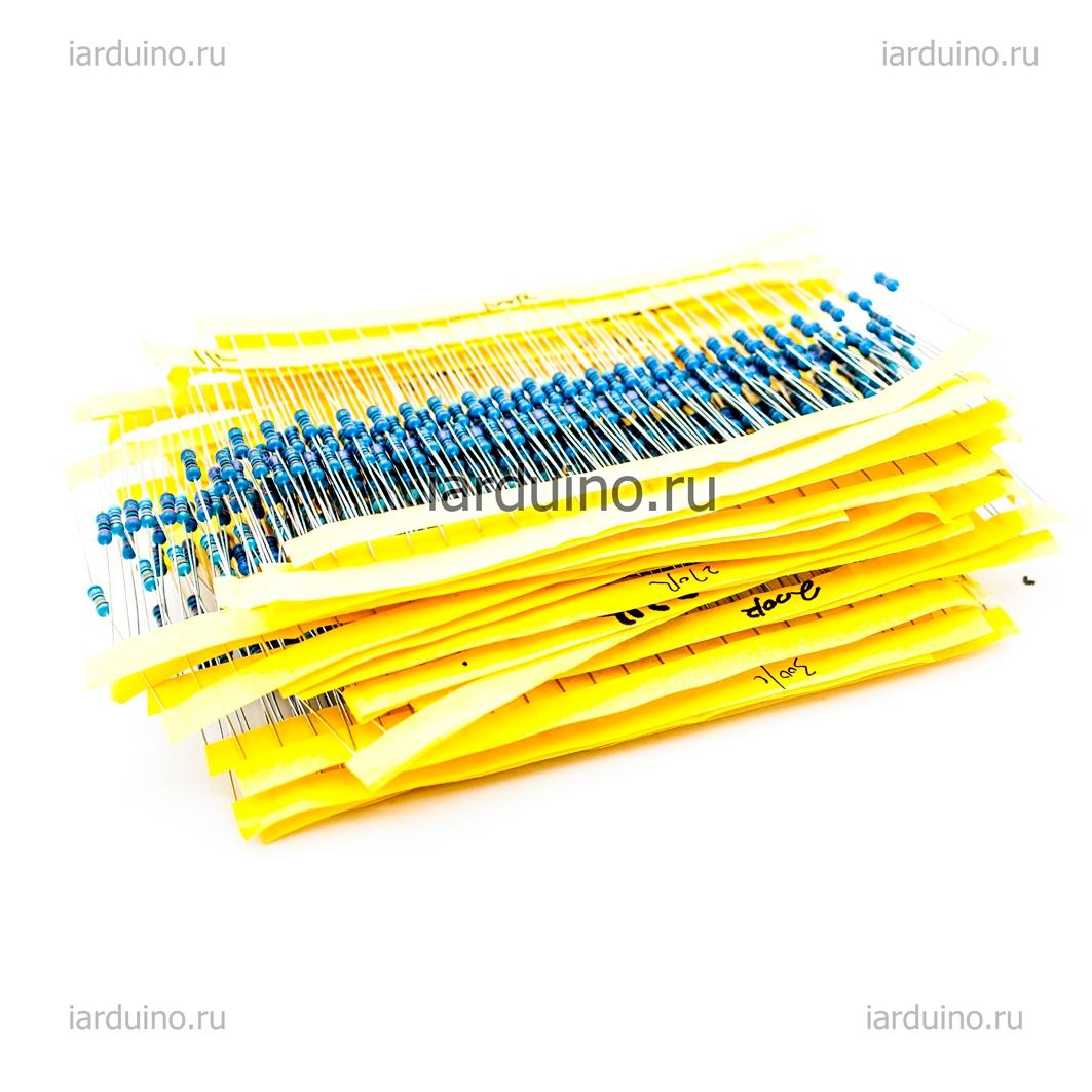 Набор резисторов MAXI (600 резисторов) для Arduino ардуино