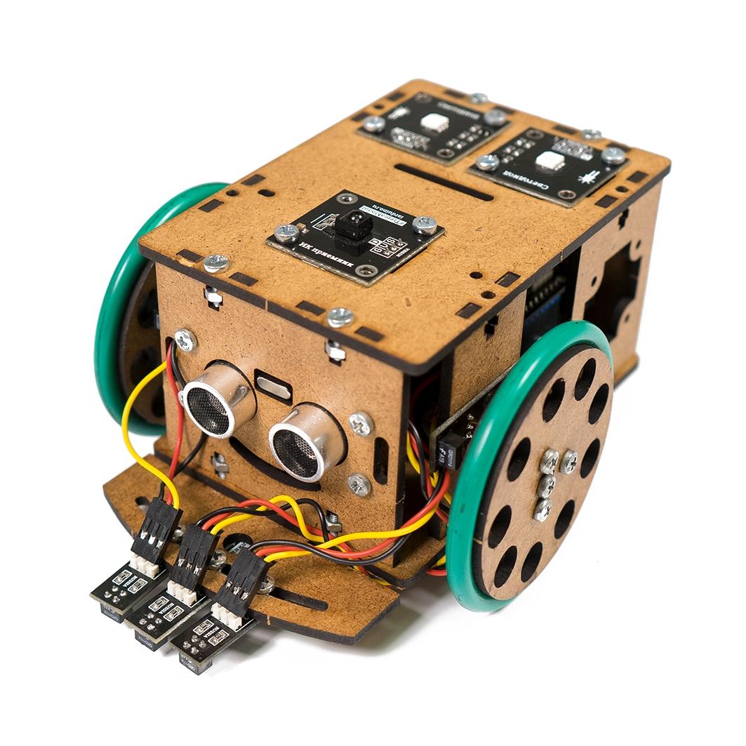 Образовательный набор - Робот «Малыш» для Arduino ардуино
