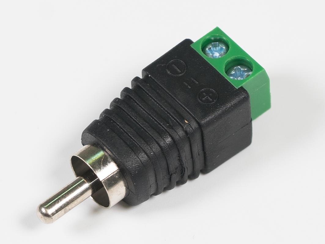 Штекер RCA с клеммником для Arduino ардуино