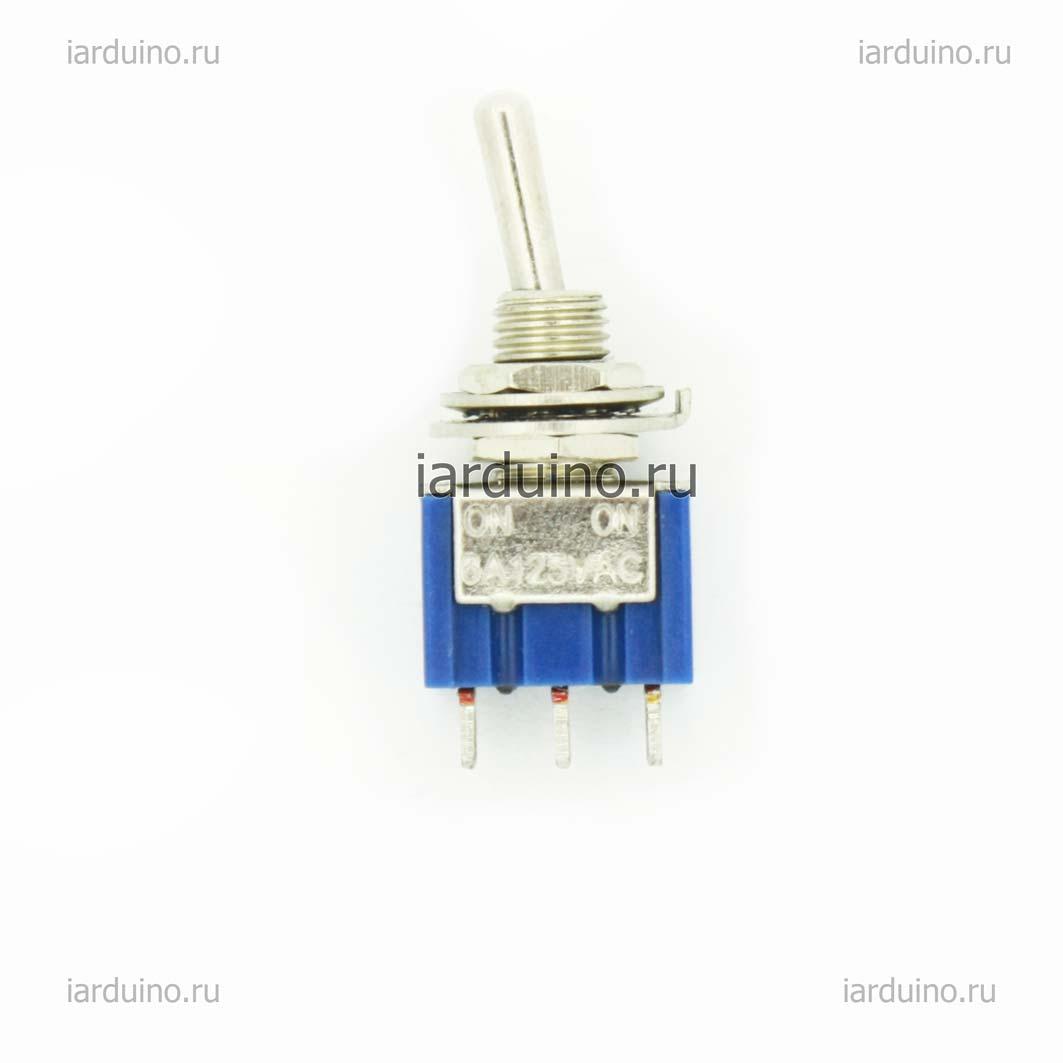 Тумблер 3-pin для Arduino ардуино