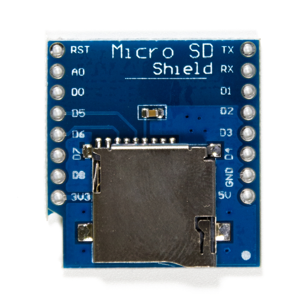 WEMOS Micro SD Card Shield для ардуины