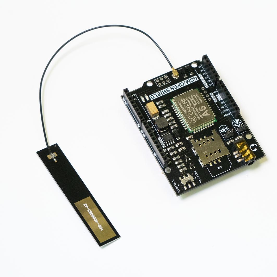 GSM-GPRS антенна, IPX для Arduino ардуино