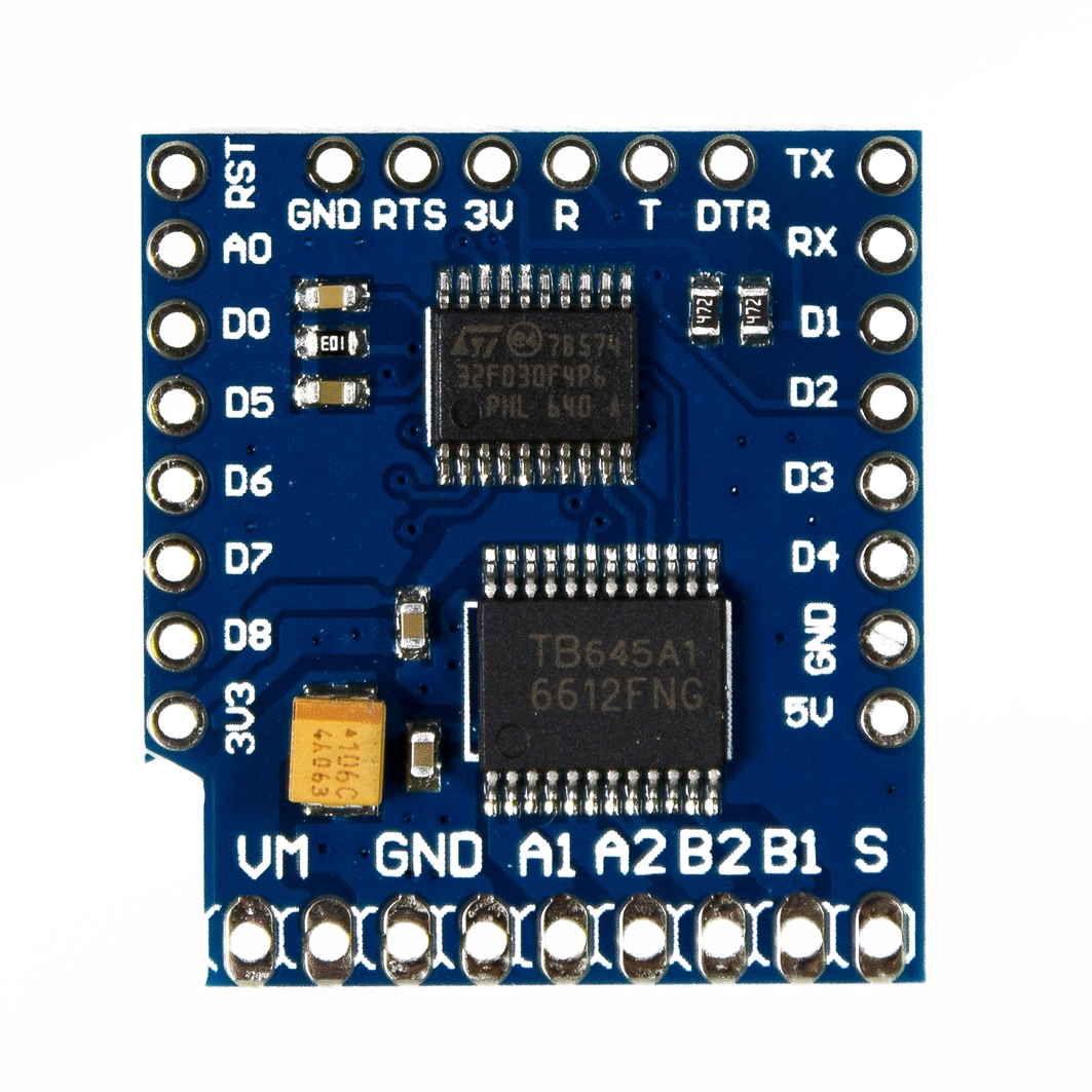 arduino uno - L289N giving different voltages at same