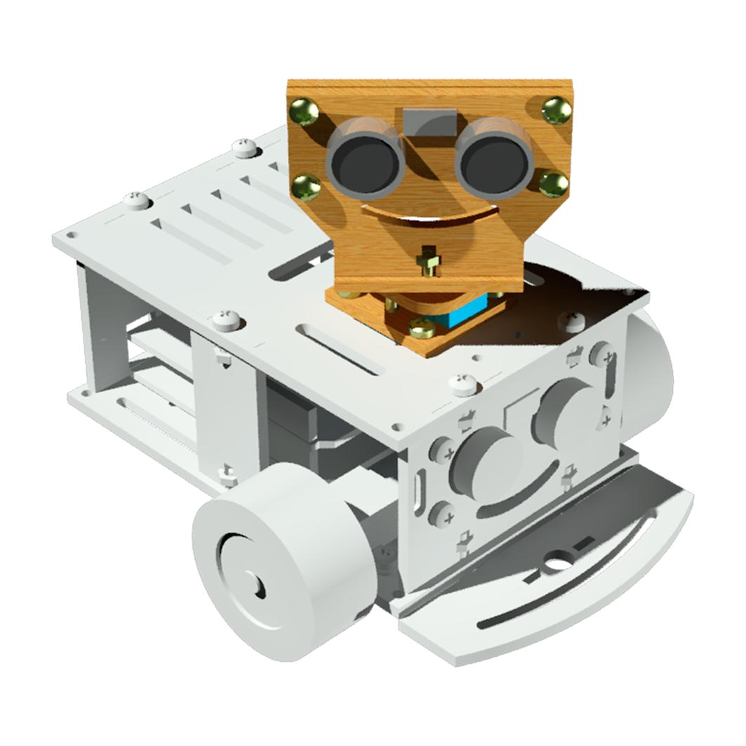 Комплект «Подвижный локатор» для Arduino ардуино