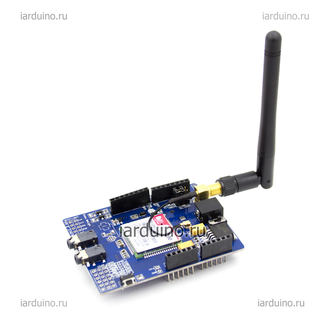 GSM/GPRS Shield для ардуины