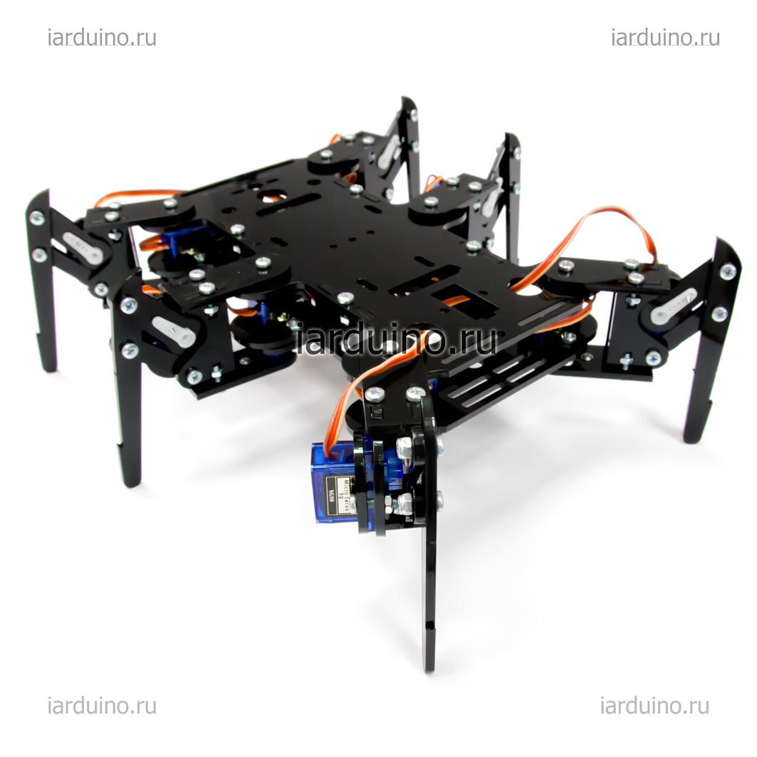 Платформа «HEXAPOD» (шестиногий) для Arduino ардуино