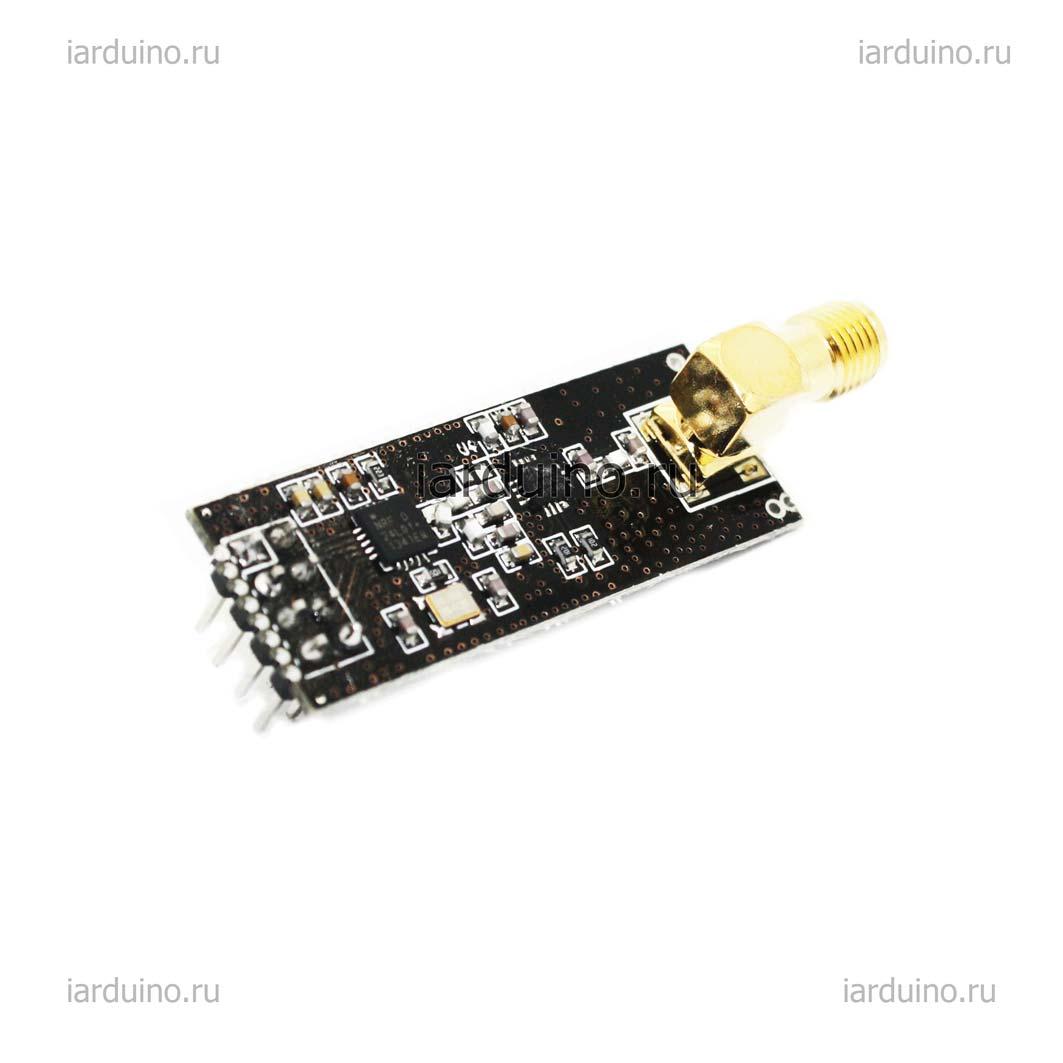 Радио модуль 1100м. 2.4G NRF24L01+PA+LNA для Arduino ардуино