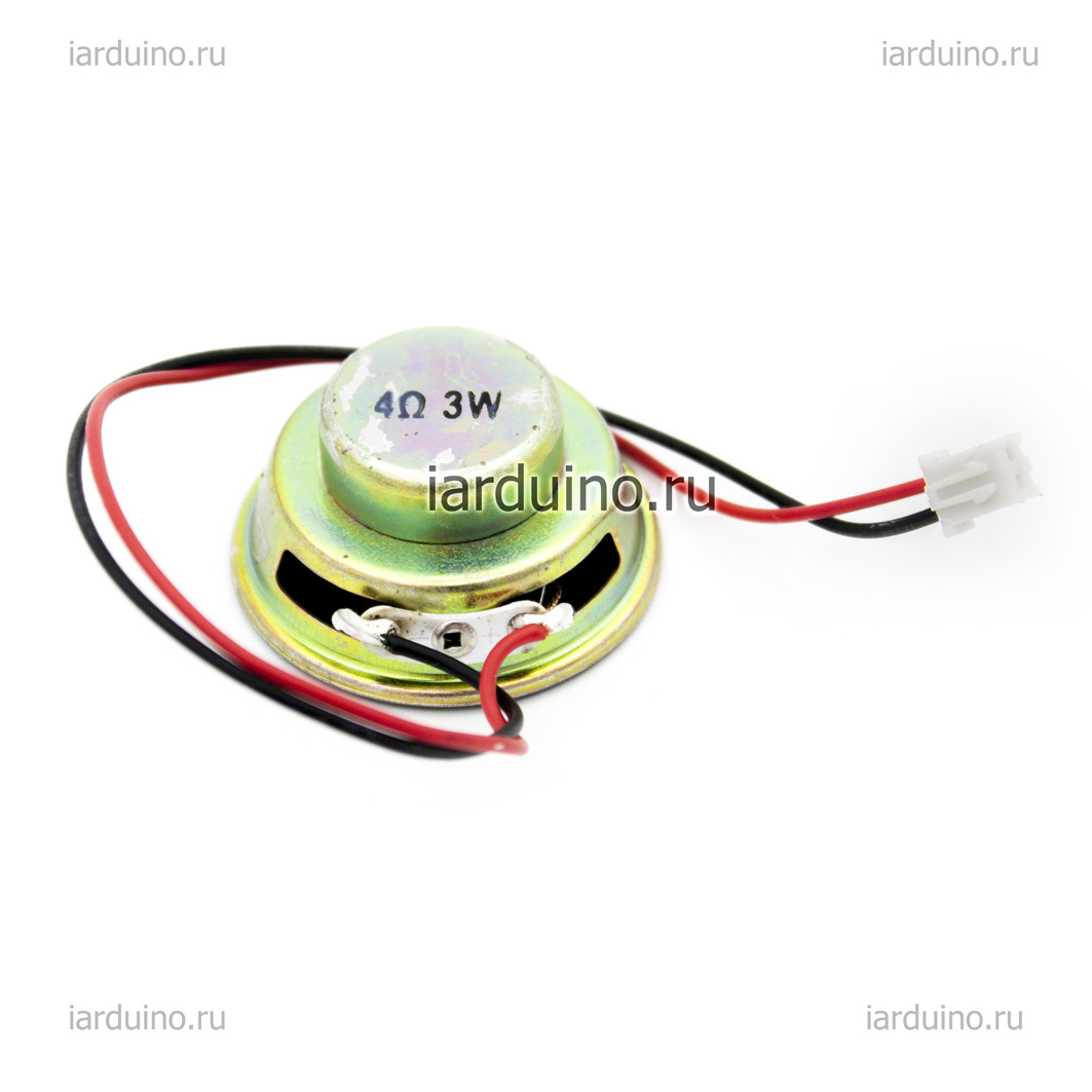 Динамик 3W 4Ом. для Arduino ардуино