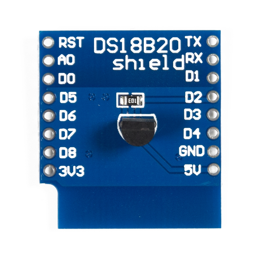 WEMOS DS18b20 Shield для ардуины