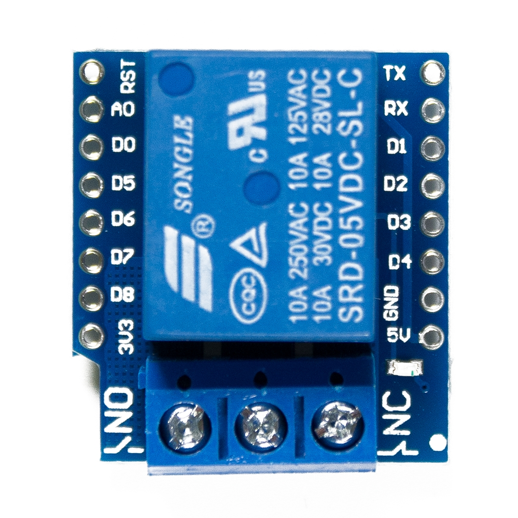 WEMOS Relay Shield для ардуины