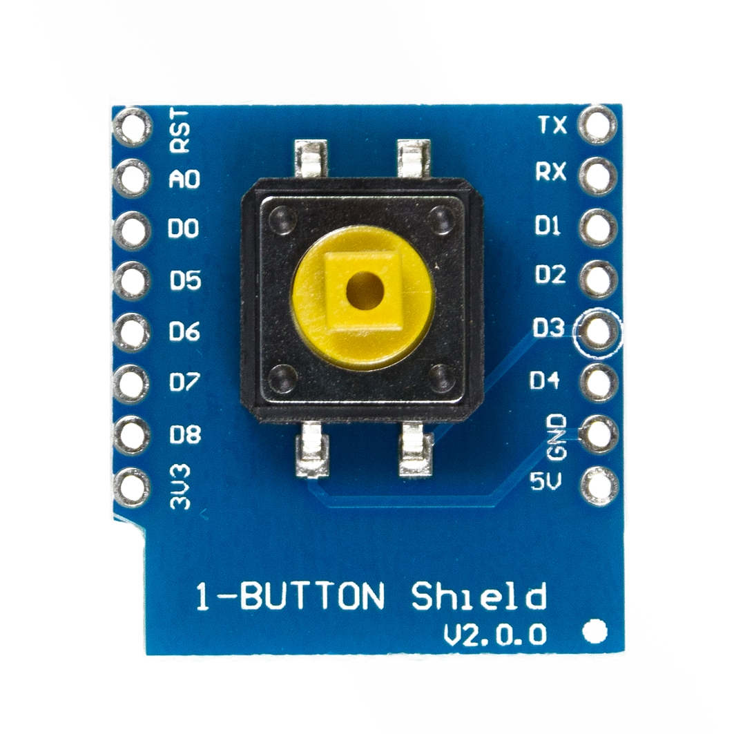 WEMOS 1-Button Shield для ардуины