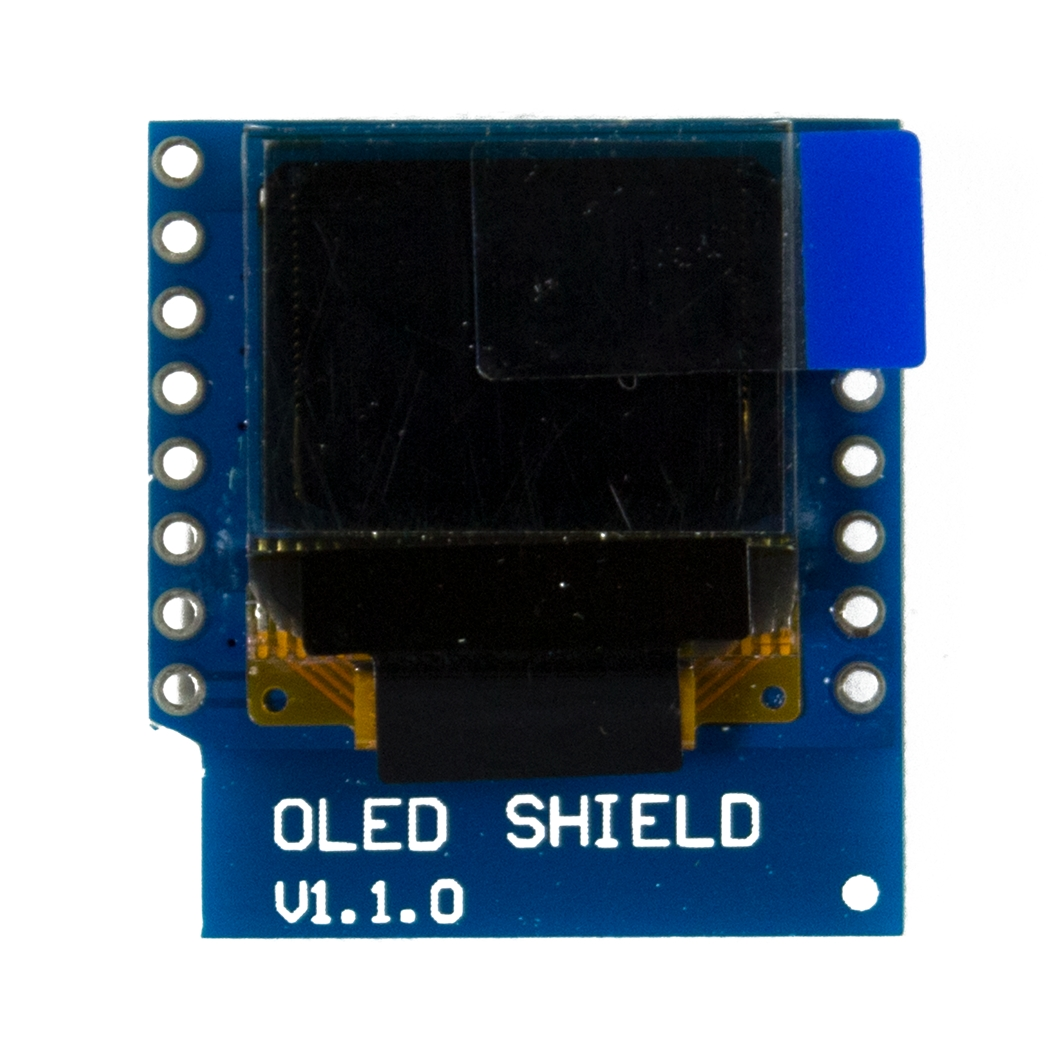 WEMOS OLED Shield для ардуины